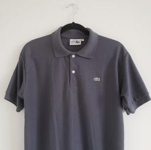 Lacoste: NWT Gray Polo Tee (Size M)
